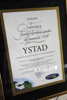 Diplom till kommunen