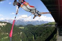 Med sina 192 meters höjd påstås detta vara världens högsta bungy jump