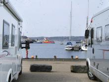 Bua hamn, Hallands län
