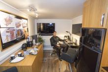 Ett mobilt kontor från Nordic