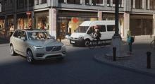 Volvo har varit med och utvecklat ett system som ska motverka kollision med cyklister.