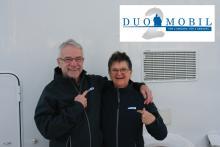 Det här är paret Scheinkofer som inspirerat till att optimera planlösningen för två.