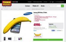 Bananjämförelse sanktionerad av en professor i bananologi? Hmmm