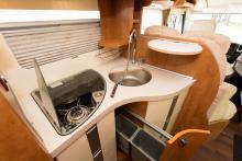 Variation. Köket är väldigt välutrustat och även flexibelt.