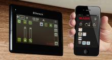 Kaba Smart-D Remote ger användaren möjlighet att på ett enkelt sätt styra och bevaka sitt fordon.