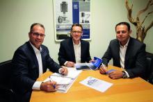 Kay Fischer, Pierre Blom och Eric Klinkenberg på E&P Hydraulics kommer fortsätta jobba under AL-Kos vingar.