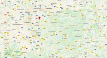 """och här hittar du Lego Brücke i Wuppertal. GPS: N51°16'03"""", E7°09'39"""""""