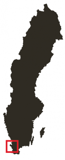 Sydligt guldläge ett stenkast från Öresund