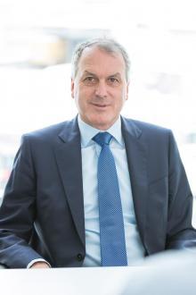 Johannes Stegmaier, Styrelseordförande och familjens talesperson.