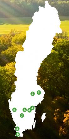 Resa: 9 vattennära golfbanor i Sverige