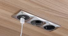 USB, 12 och 230 V. Bara välja!