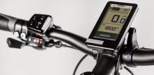 Med en knappsats på styret byter du enkelt assistansläge. Displayen visar nödvändig info om om din cykling.