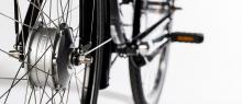 """Framhjulsmotorn för dig framåt i den hastighet du väljer. För cyklisten som vill kunna""""åka med"""""""