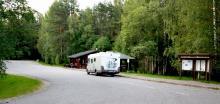 Finlands absolut bästa rastplats ligger precis vid gränsen mot Ryssland. Här kan man rasta i timmar utan att tröttna.