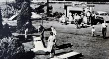 Klassiskt. Björkenäs var under 50-talet en känd festplats med dans och hålligång.