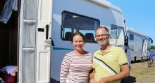 Testar. Camilla och Jan lånar husbil för andra gången.