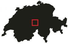 Meiringen är ett litet samhälle i det schweiziska alplandskapet.