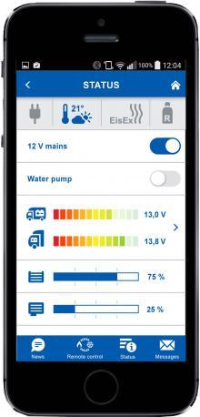 Trumas app är gratis att ladda ner på Appstore eller Google Play till din smartphone.