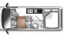 Världspremiär: Ny lång Transit visas som husbil