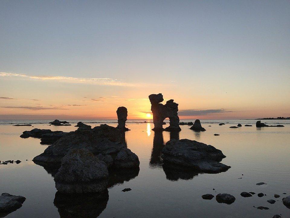 Gott om plats på Gotland i början av juli