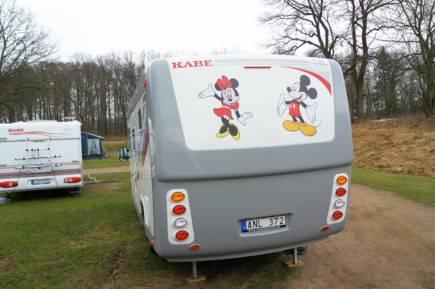 Bildextra: Kabe Husbilsklubb mötte våren i Skåne
