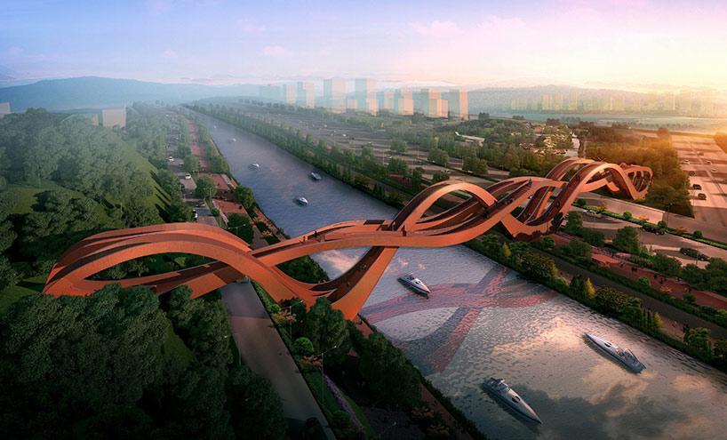 meixi lake bridge by NEXT architects