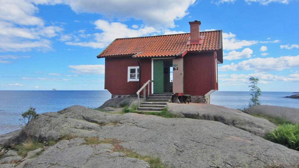 Albert Engströms ateljé i Grisslehamn lämpar sig väl för ett kortare stopp.