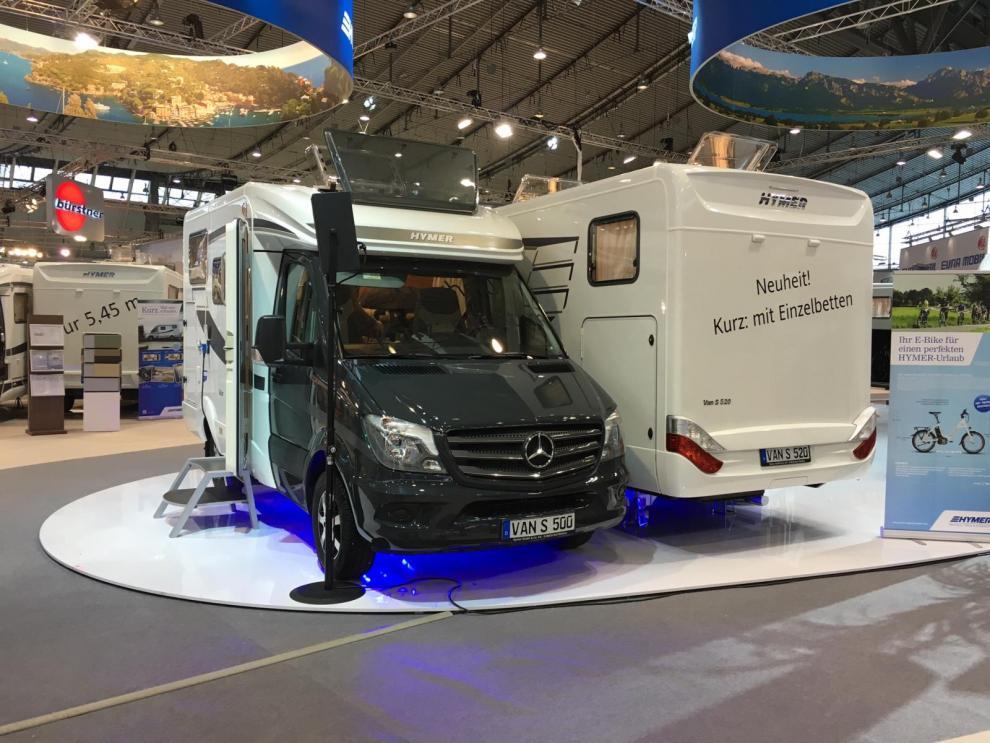 Hymer Van S500 samt S520