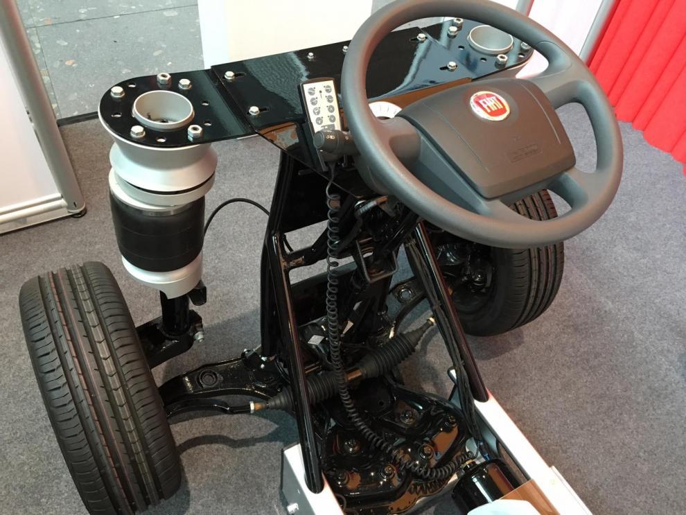 Bra demonstrationsfordon för Al-Ko:s luftfjädring Air Premium x4.