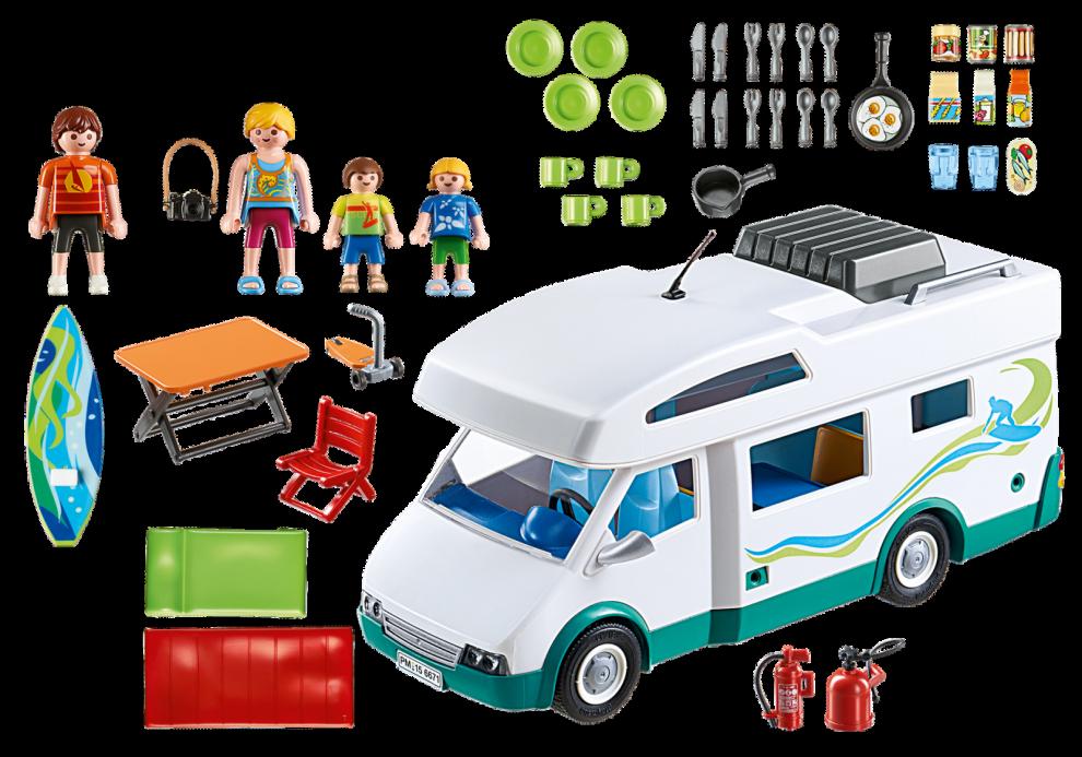 """Summer Camper levereras """"all inclusive"""" för 599 kr. Även en familj ingår. Med så mycket folk och packning är det bra att hålla koll på totalvikten."""