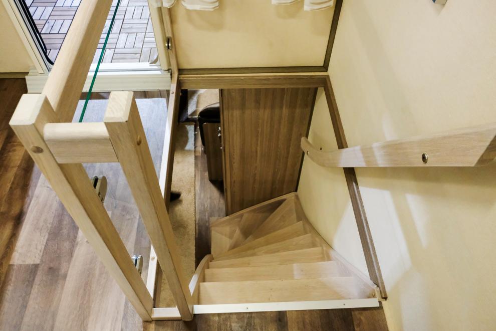 för nog känns det som lite extra med en trappa?