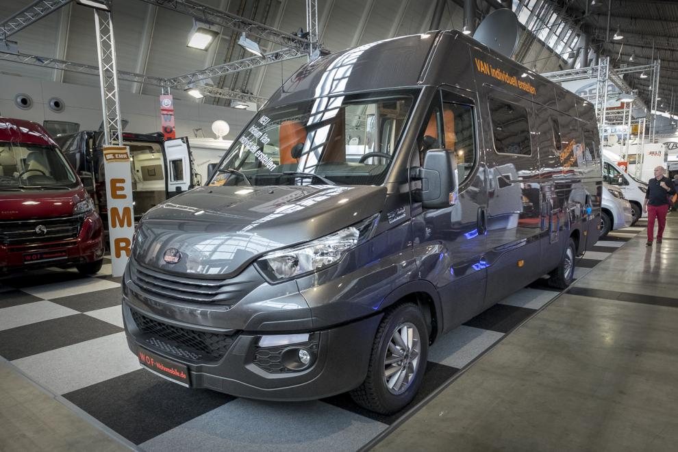 BILDSPEL: Iridium Van 7128 Rb 2018