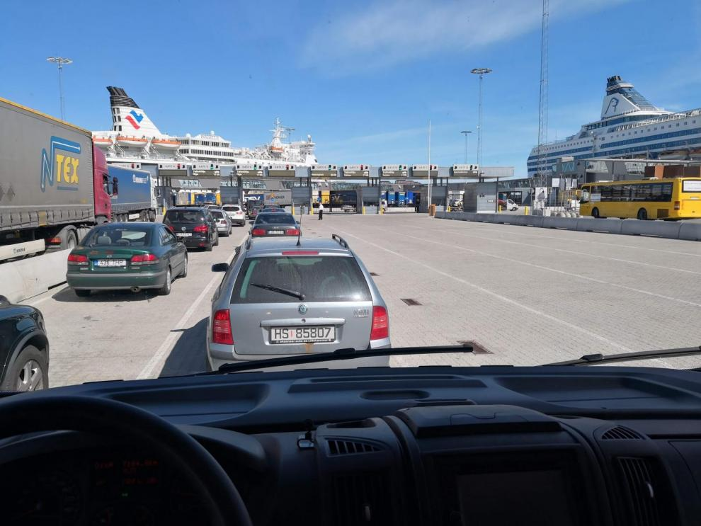 BILDSPEL: Stockholm till Riga med Tallink