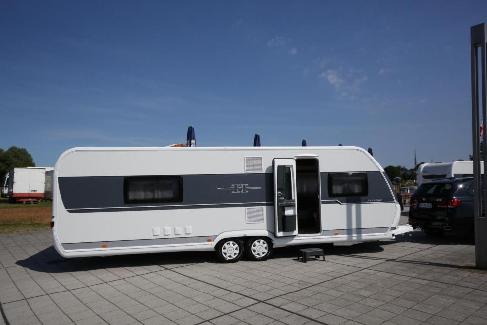 Största nyheten bland husvagnarna är Prestige 720 WLC.