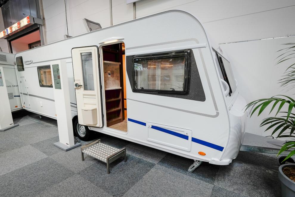 Vivo är en av fyra husvagnsserier från LMC.