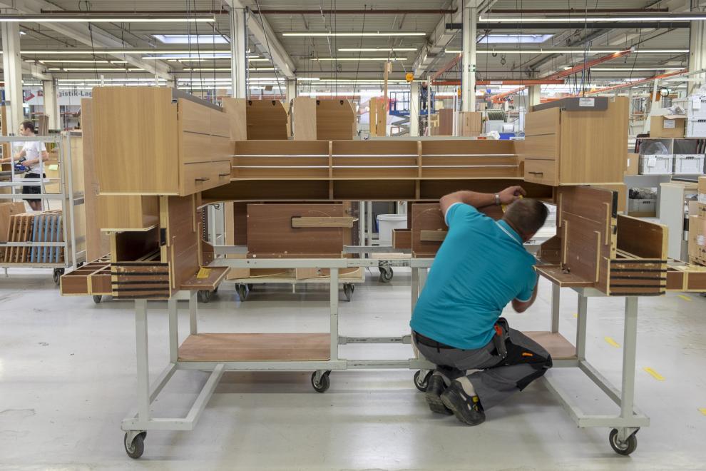 BILDSPEL: INVIGNINGEN AV Werk Sassenberg
