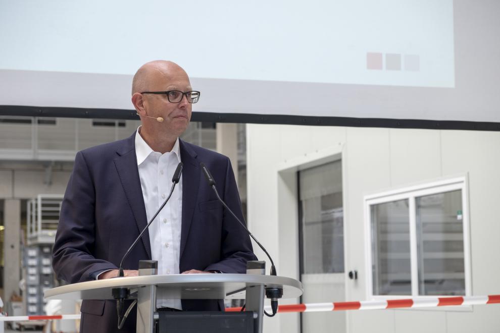 Ulrich Schoppmann, verkställande direktör för LMC Caravan.