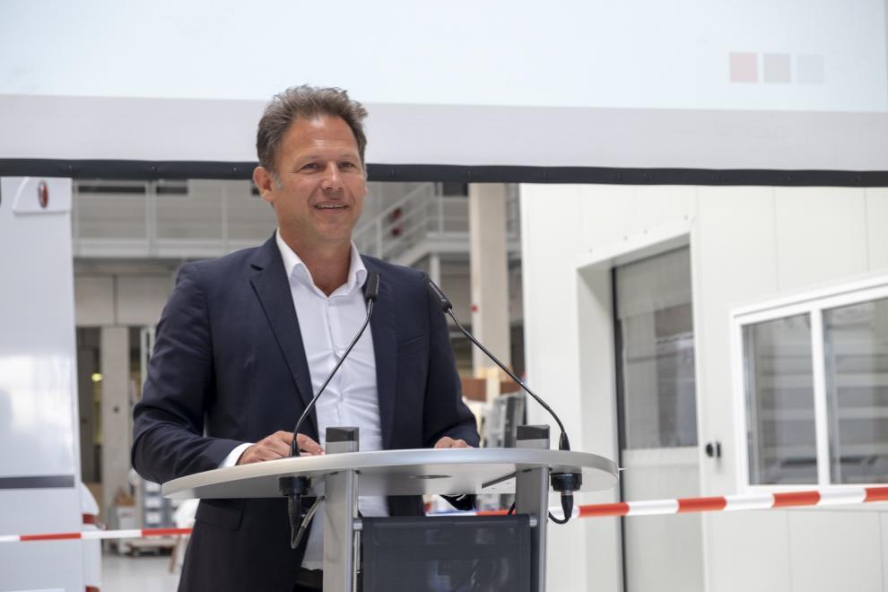 Jan De Haas, försäljningschef på Erwin Hymer Group.