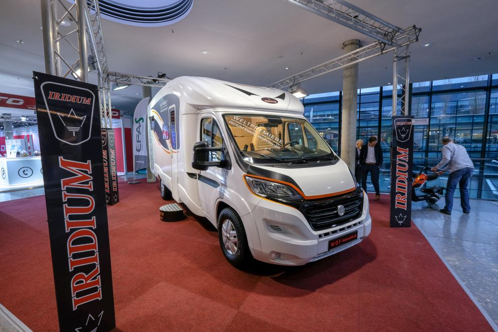 BILDSPEL: Iridium E-Mobil 2019