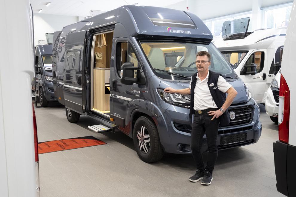 BILDSPEL: Dreamer Campervan XL