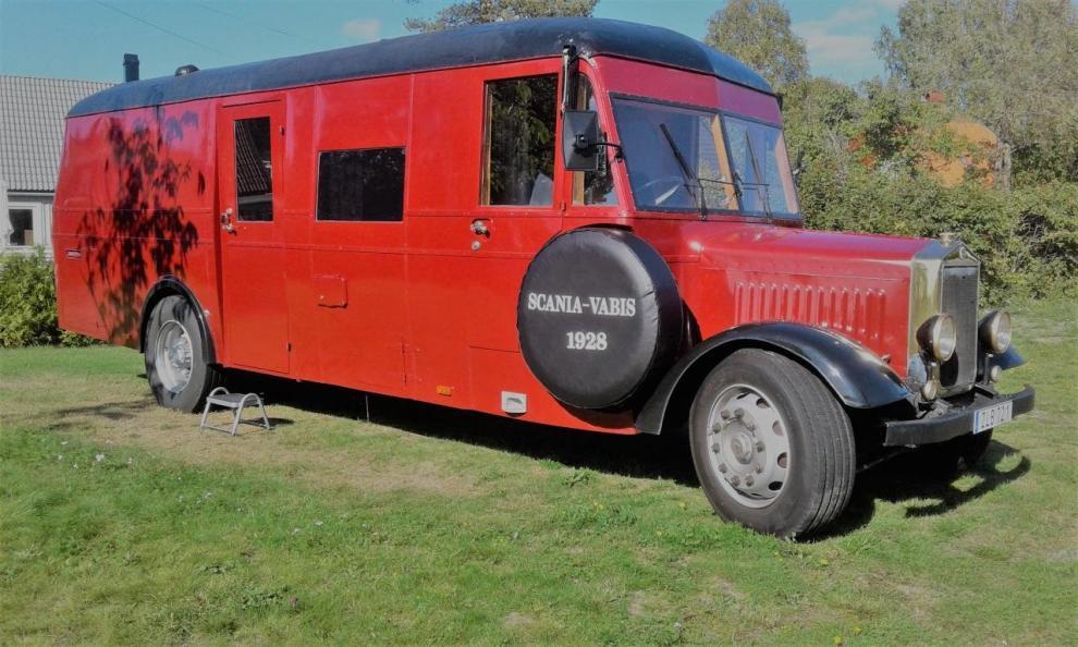 BILDSPEL: Scania Vabis 1928