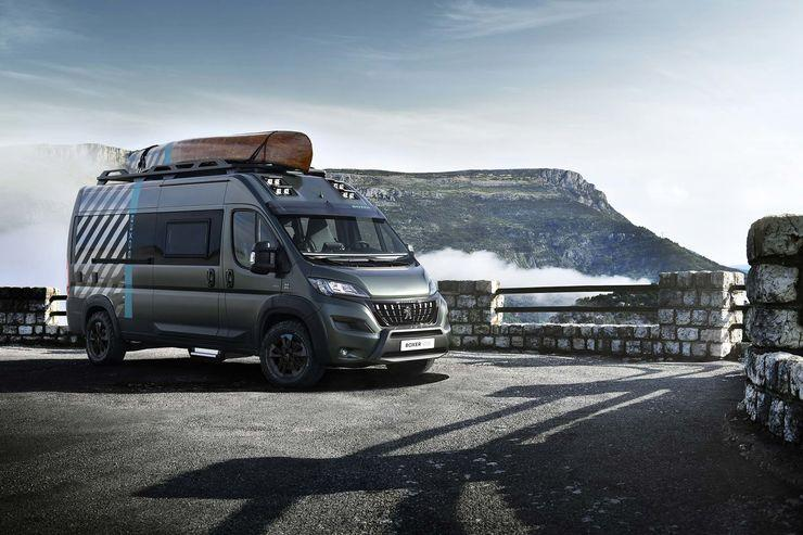 BILDSPEL: Peugeot Challenger koncept 2020