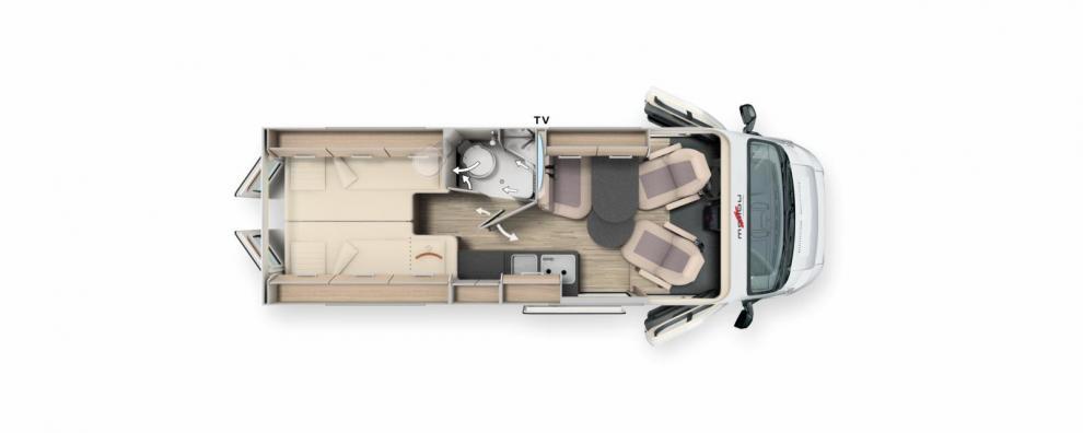 BILDSPEL Malibu Van 640 first class 2021