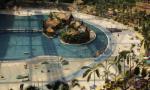 Bildspecial: Tropisk jättebubbla med bad