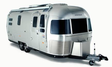 amerikansk husvagn i aluminium