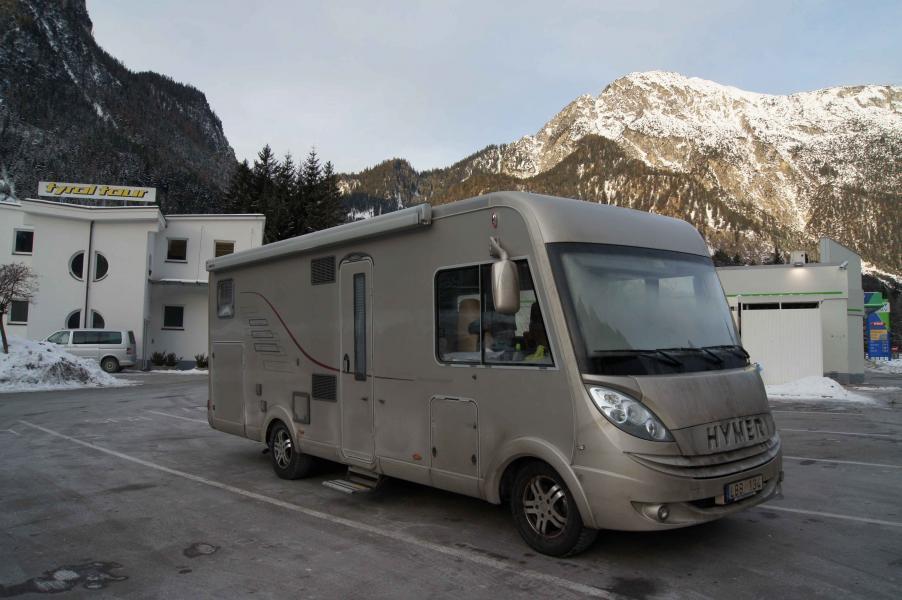 4 januari 2011: Övernattar bland Tyrols alptoppar