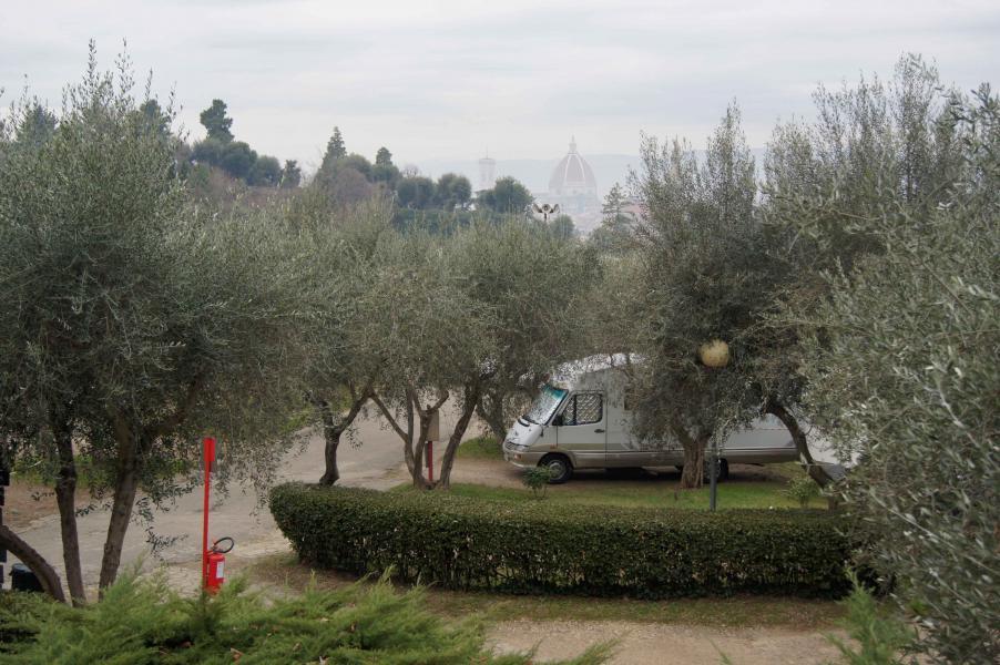 5 januari: Campar mitt i Florens
