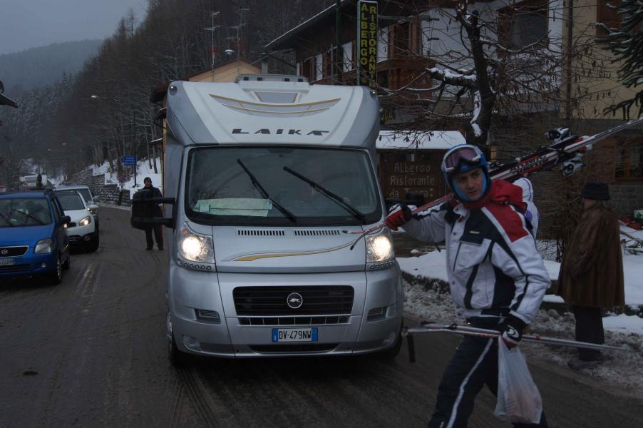 6 januari: Framme vid Laika-fabriken i Tavarnelle Val di Pesa