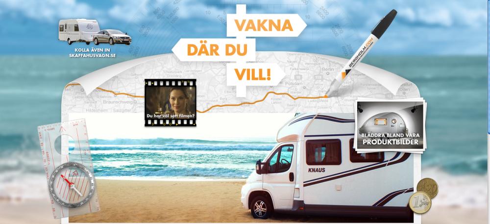Husvagns- och husbilsimportör storsatsar på tv-reklam