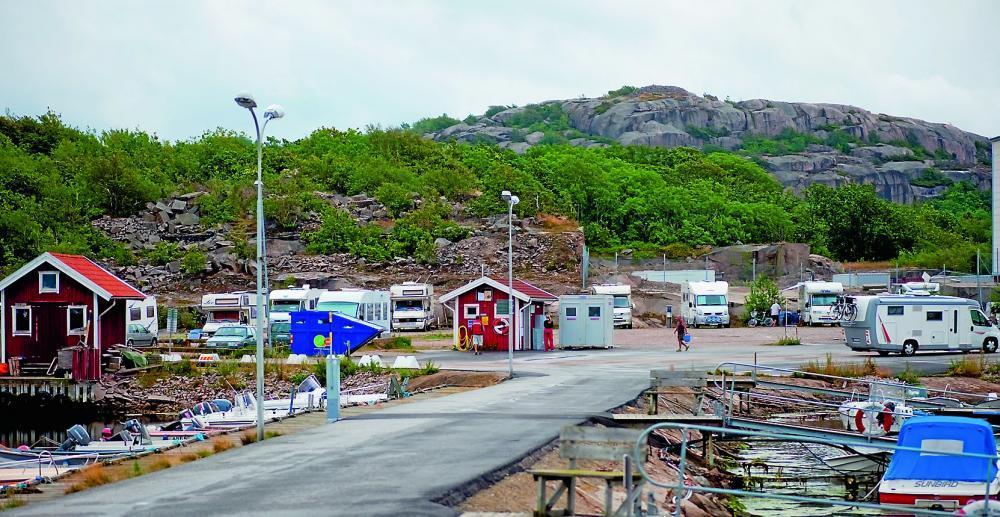 Ställplatstips – Hunnebostrand i Bohuslän